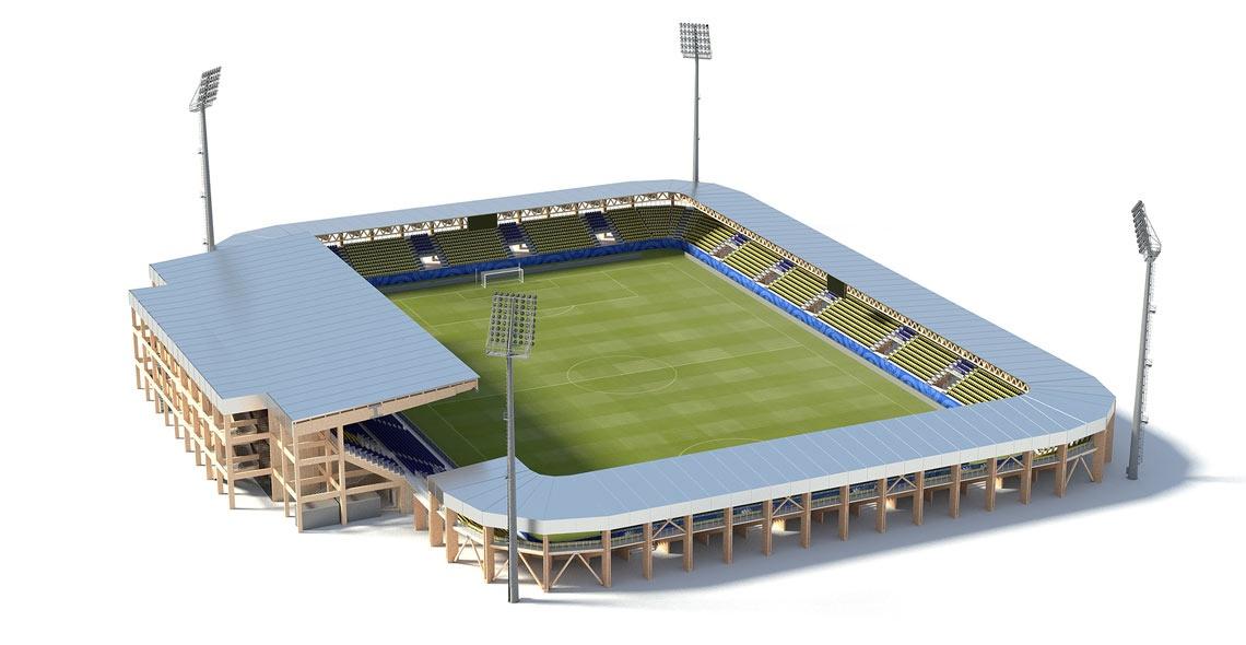 10.000 seats stadium