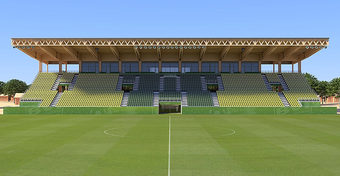 2.500 seats main stand