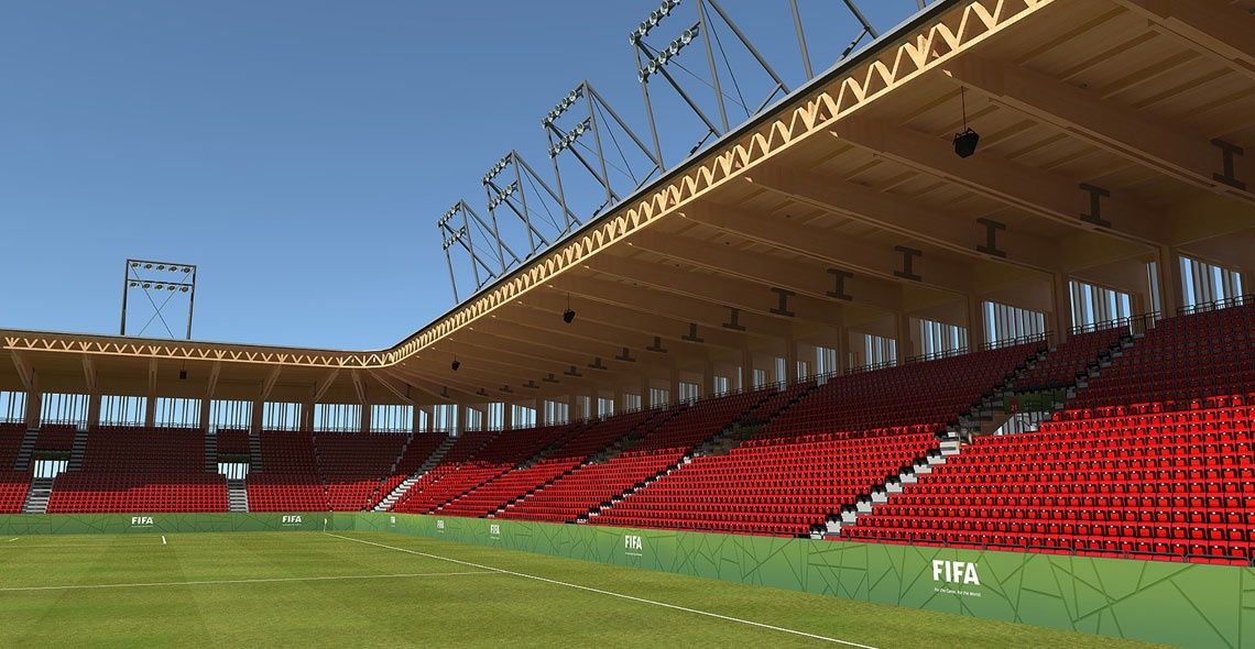 20.000 seats stadium