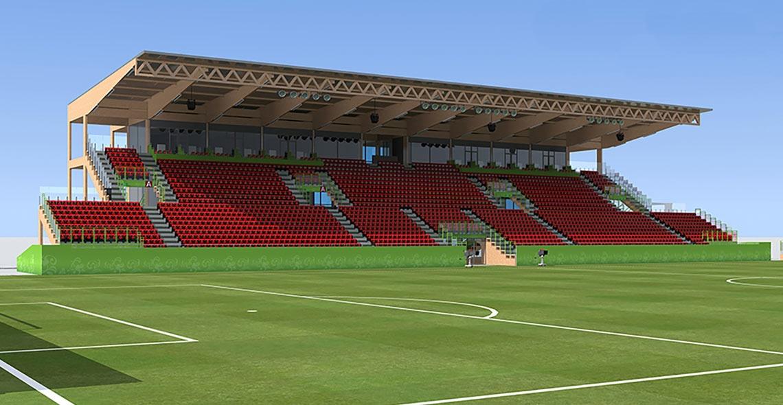 5.000 seats stadium