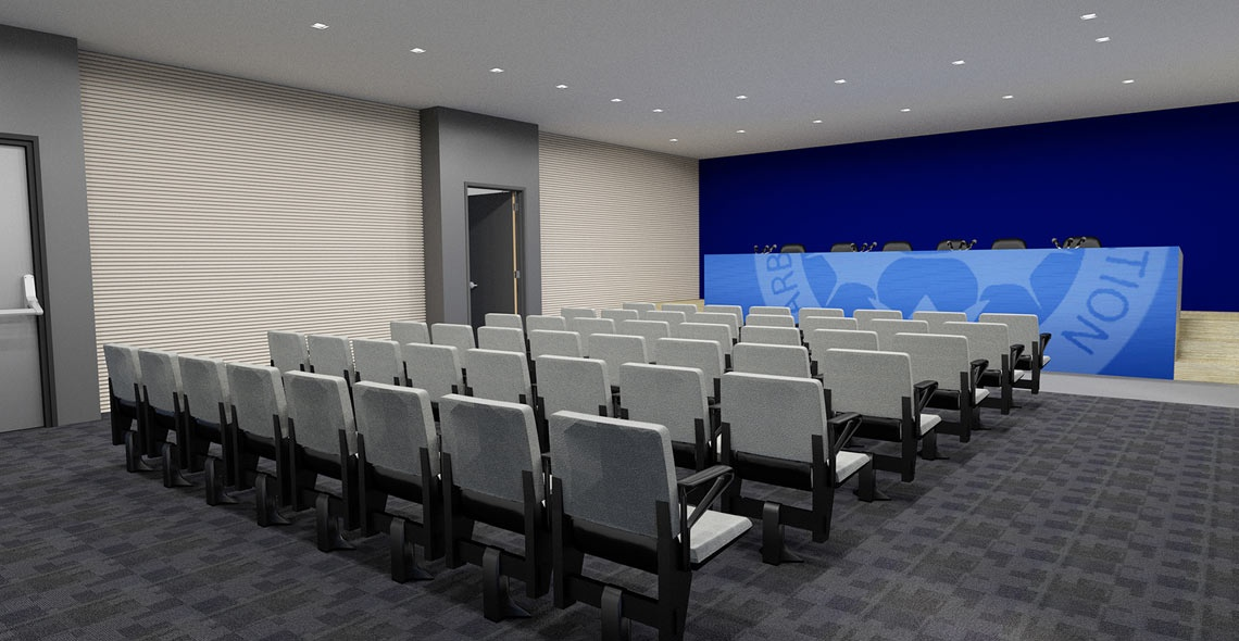 main stand conference hall